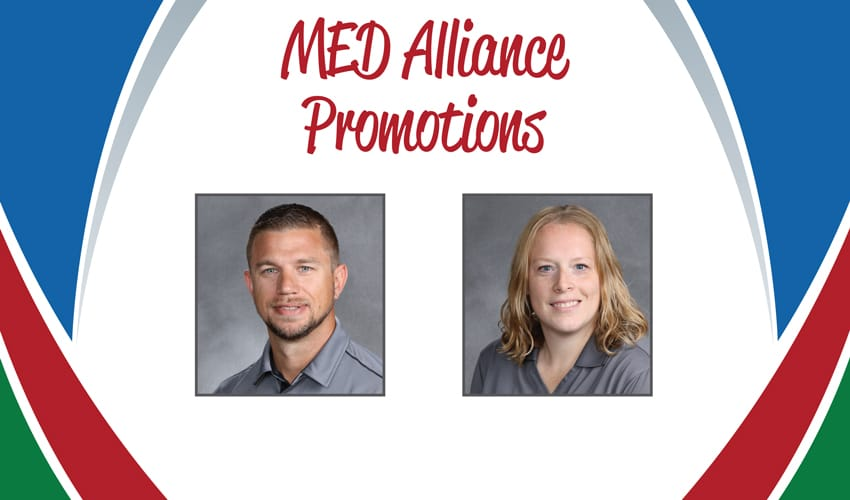 MED Alliance Promotes Two in the Coming Year